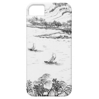 Mount Chang and Lake Chou, from 'Jardins Anglo-Chi iPhone 5 Covers