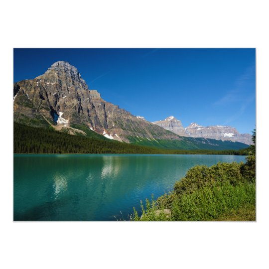 Mount Chephren Waterfowl Lakes Icefields Parkway Card