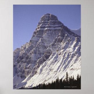 Mount Chepren, Banff National Park, Alberta, Poster