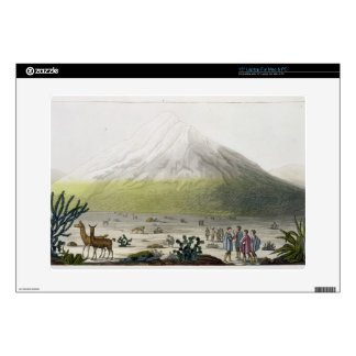 Mount Chimborazo, Ecuador, from 'Le Costume Ancien Decal For Laptop