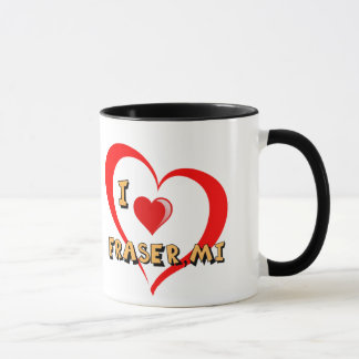 "Mount Clemens Michigan ""Double Heart"" Mug"
