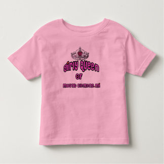 "Mount Clemens Michigan ""Girly Queen"" Toddler T-shirt"