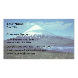 Mount Cleveland Volcano,Islands of Four Mountains, Double-Sided Standard Business Cards (Pack Of 100)