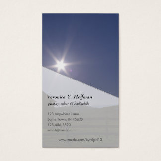 Mount Clinton Pike Business Card