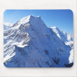 Mount Cook (Aoraki) Peak, New Zealand Mouse Pad