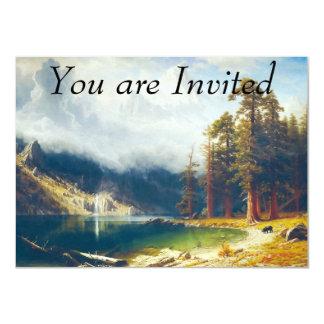 Mount Corcoran by Albert Bierstadt 1876–77 4.5x6.25 Paper Invitation Card