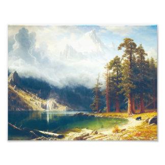 Mount Corcoran by Albert Bierstadt 1876–77 Photo Print