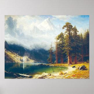 Mount Corcoran by Albert Bierstadt 1876–77 Posters