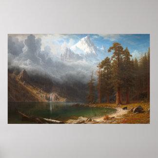 Mount Corcoran by Albert Bierstadt Poster