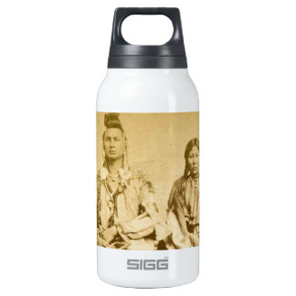 Mount Dakota Territory Crow Warrior and Bride Thermos Water Bottle