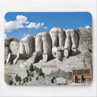 Mount Debtmore Mouse Pad