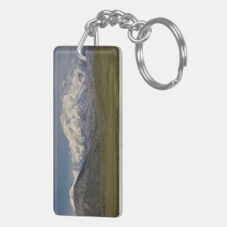 Mount Denali Double-Sided Rectangular Acrylic Keychain
