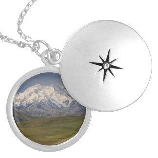 Mount Denali Silver Plated Necklace