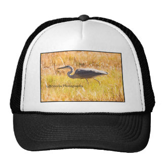 Mount Desert Great Blue Heron Trucker Hat