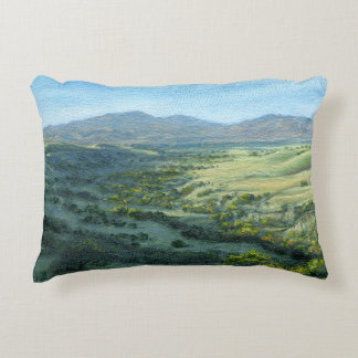 """""""Mount Diablo Southern View"""" Pillow"""