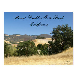 Mount Diablo State Park Postcard