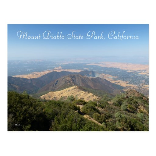 Mount Diablo State Park,... Postcard