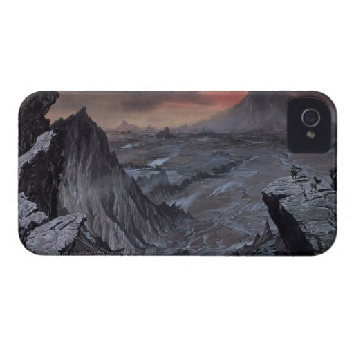 Mount Doom Blackberry Case