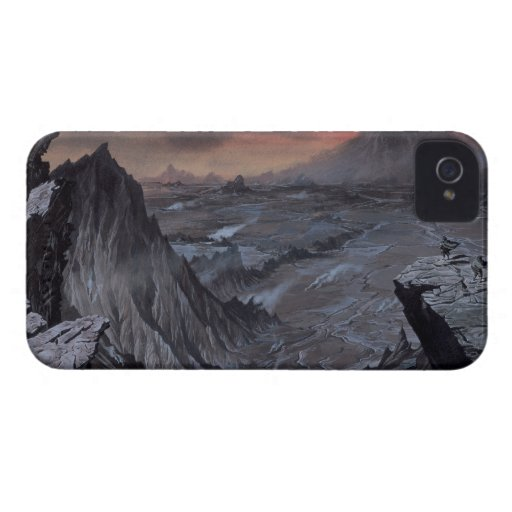 Mount Doom iPhone 4 Cover