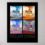 Mount Dora Fine Art Poster - Solarized