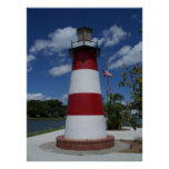 Mount Dora Florida Lighthouse Lake Marker Poster