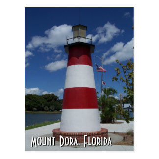 Mount Dora Florida lighthouse post card photo