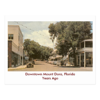 Mount Dora, Florida- Years Ago Postcard