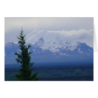 Mount Drum over the Copper River Valley Cards