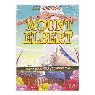 Mount Elbert, Colorado USA travel poster Photo Print