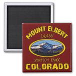 Mount Elbert Fridge Magnet