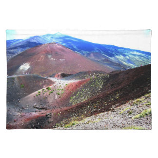Mount Etna Placemat Cloth Place Mat