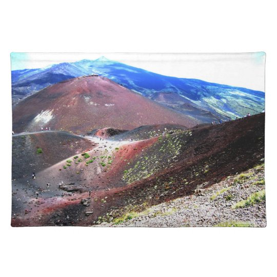 Mount Etna Placemat