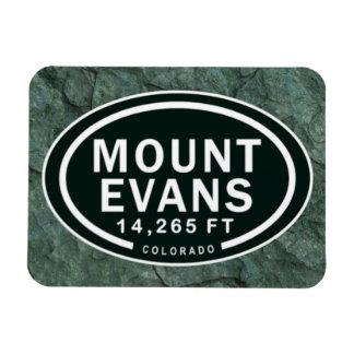 Mount Evans 14,265 FT CO Mountain Magnet
