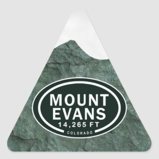 Mount Evans 14,265 FT CO Mountain Stickers