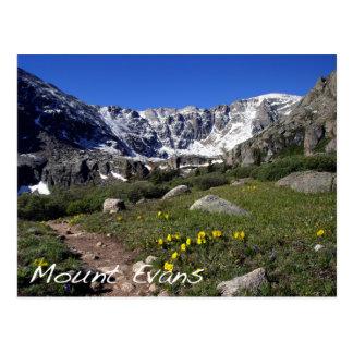 Mount Evans Postcard