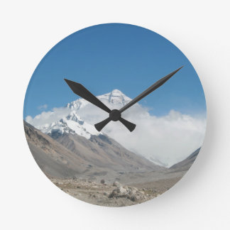 Mount Everest 10 Round Clock