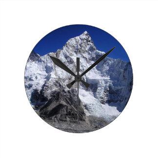 Mount Everest 2 Round Clock