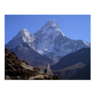 Mount Everest 4 Postcard
