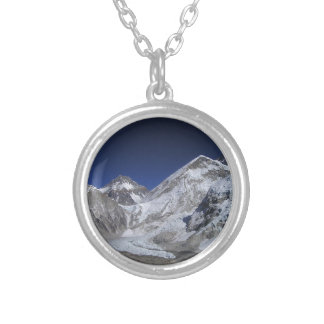 Mount Everest 6 Silver Plated Necklace