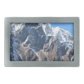 Mount Everest 7 Rectangular Belt Buckles