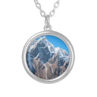 Mount Everest 7 Silver Plated Necklace