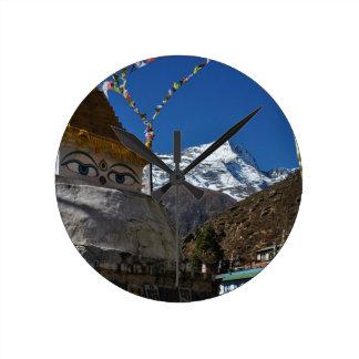 Mount Everest 8 Round Clock