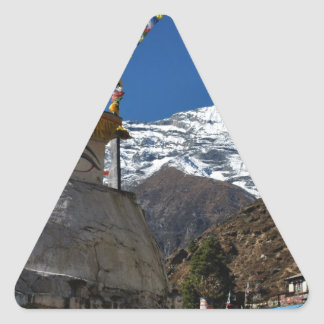 Mount Everest 8 Triangle Sticker
