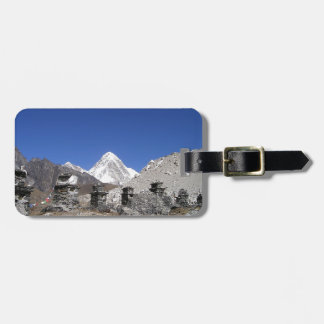 Mount Everest 9 Luggage Tag