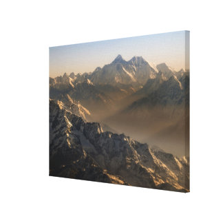 Mount Everest, Himalaya Mountains, Asia Stretched Canvas Print