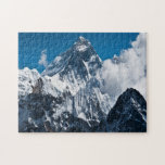 """Mount Everest Jigsaw Puzzle<br><div class=""""desc"""">Once this puzzle is put together it looks like a oil painting. The picture was painted in a computer program called GIMP, it took days to paint. Mount Everest, also known in Nepal as Sagarmāthā and in Tibet as Chomolungma, is Earth&#39;s highest mountain. It is located in the Mahalangur section...</div>"""