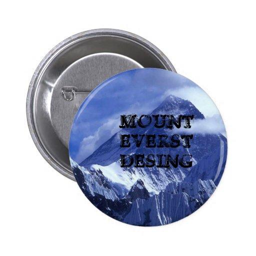 mount_everest_, MOUNT EVERST DESING 2 Inch Round Button