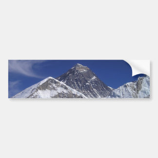 Mount Everest Photo Bumper Sticker