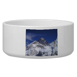 Mount Everest Photo Pet Food Bowl