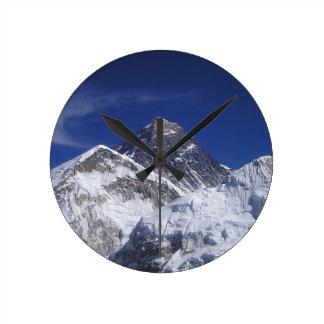 Mount Everest Round Clock